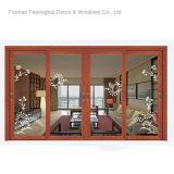 El último reemplazo del vidrio de ventana de aluminio del diseño (FT-W132)