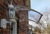Pabellón/sombrilla del toldo del policarbonato vertida para las puertas de Windows&