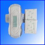 日夜のための綿の陰イオンチップ衛生パッドは使用する