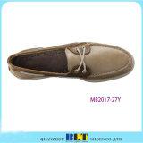 Самые лучшие ботинки шлюпки кожи сбывания с шнурком ботинка