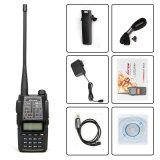 Exhibición dual FM Lt-313 de radio del VHF de la frecuencia ultraelevada de la venda dual