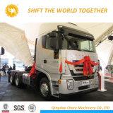 Italia Hongyan tecnología 6X4 camión tractor jefe