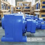 Engranaje en línea de eje montado en pie R Series Helical Geared Box