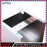オンラインカスタム記憶のステンレス鋼の金属の白い食器棚