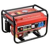2500 6.5HP 2kw générateur à essence avec des prix du générateur de 110V/220V Phase unique