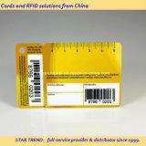 Cartão Combo plástico - um cartão de crédito com um Fob Anexado