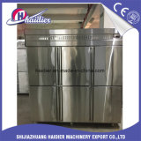 Matériel de nourriture de restaurant pour le réfrigérateur de congélateur avec 6 portes