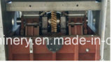 Máquina que arruga y que corta con tintas de China para la taza de papel