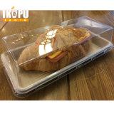 Bandeja de comida rápida desechables biodegradables bagazo de caña de azúcar de bambú
