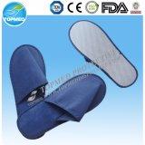 Тапочки устранимые PP+EVA пальца ноги потребляемых веществ гостиницы тапочки гостиницы закрытой