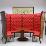 (SP-KS268) Insieme di legno rotondo di qualità superiore della cabina del ristorante di stile cinese