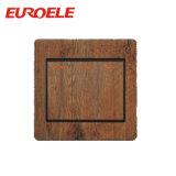 快適な木カラーパソコン材料3の一団の壁スイッチ