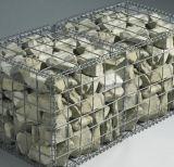 Горячая окунутая гальванизированная 50*50mm сваренная коробка Gabion
