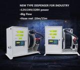 Distributeur de carburant 12V / 24V / 220V avec tuyau de buste 15m / 10m