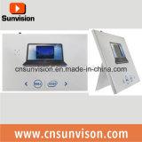 """folleto video de la tarjeta de felicitación de 4.3 """" LCD con el sostenedor"""