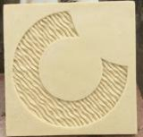 De Tegels van de Muur van het Standbeeld van Relievo van het zandsteen voor de Decoratie van het Huis