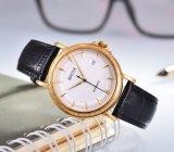 Form-Edelstahl-mechanische Armbanduhr für Männer