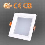 195 mm Dimensión Perforar PF0.92 2400lm abajo luz LED Square