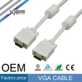 Sipu High Speed 15 pouces VGA vers câble VGA pour moniteur
