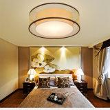 La lámpara principal del techo del hierro de la iluminación del dormitorio para la sala de estar