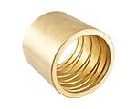 Moulage de pièces Metel colliers du tuyau en laiton