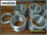 Piezas de aluminio del engranaje del metal de la protuberancia fría