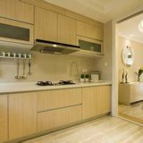 Роскошные мебели дома твердой древесины