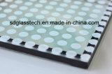 3 mm-19 mm de cerámica serigrafiada frita de vidrio para la decoración