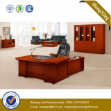 Meubles de bureau en acajou en bois Mélamine Bureau en bois (NS-NW145)