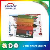 Cartão de cor de madeira de impressão offset de cor completa para propaganda