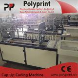 使い捨て可能な水コップのリップのカール機械(PP-120)