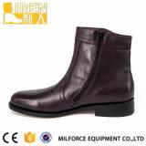 Laarzen Van uitstekende kwaliteit van de Enkel van het Leer van de Verkoop van de fabriek de Directe Echte Militaire