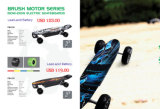 Doppelfahren 2017 nicht für den Straßenverkehr weg vom Straßen-elektrischen Skateboard