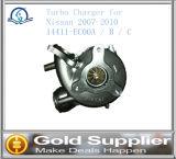 닛산 2007-2010년을%s 터보 충전기 OEM 14411-Ec00A/B/C