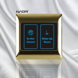 El panel de tacto del sistema del timbre del hotel en el marco del esquema del metal (SK-dB2001SYS)