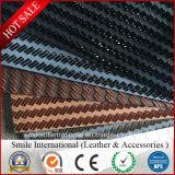 Cuir/matériau synthétiques pour la Véhicule-Portée de sofa