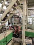 Capa tres Co Extrusión soplado de rotación de tracción de la máquina de cine