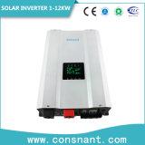 격자 잡종 태양 변환장치 1-12kw 떨어져 DC/AC 잡종 태양 비용을 부과