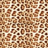 100%Polyester de lichte Afgedrukte Stof van het Af:drukken van de Luipaard Pigment&Disperse voor de Reeks van het Beddegoed