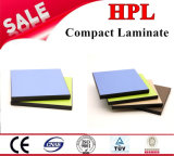 Laminado de papel del grano de madera de HPL