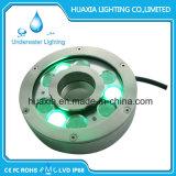 IP68は高い発電LEDの水中噴水LEDライトを防水する