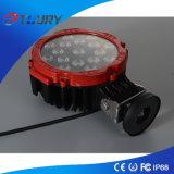 luzes de condução redondas da luz 51W do trabalho do diodo emissor de luz do CREE 3W*17PCS