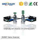 Importado máquina eléctrica metal Galvo Cabeza Js2807 corte por láser de la máquina Parte