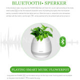 Цветочный горшок светлого нот диктора СИД Bluetooth франтовской