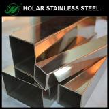Tubo quadrato dell'acciaio inossidabile 201 di Holar