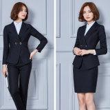 Trajes De Negócios De Moda Feminina Uniforme De Lã