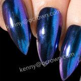 Camaleón brillante espejo Colorshift UV Gel Polish Chrome el polvo de pigmento