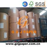 506mm 528mm Breiten-weißes überzogenes Papier in der Bandspule für Großverkauf