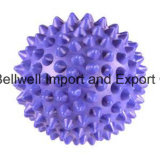 Bola de massagem de bola de mão Spike com miniatura de 6 cm