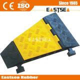 Black & Yellow Прочный резиновый 5 Кабельный канал Ramp